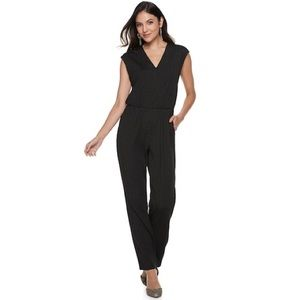 Womens beautiful black shine jumpsuit